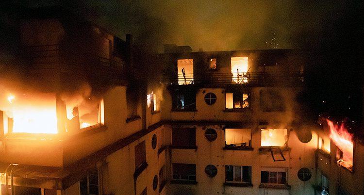 Branden i Paris