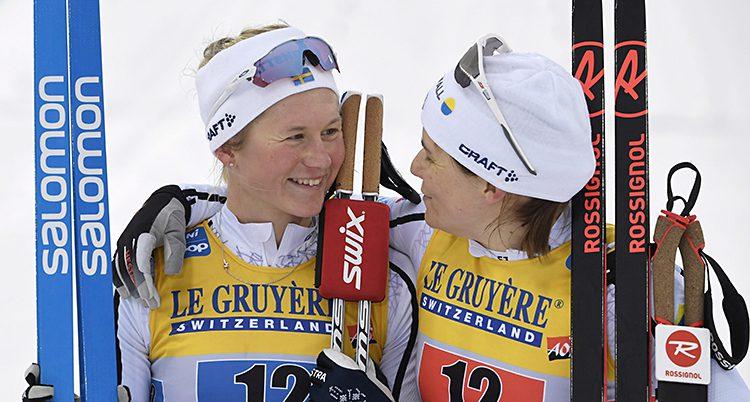 Maja Dahlqvist och Ida Ingemarsdotter