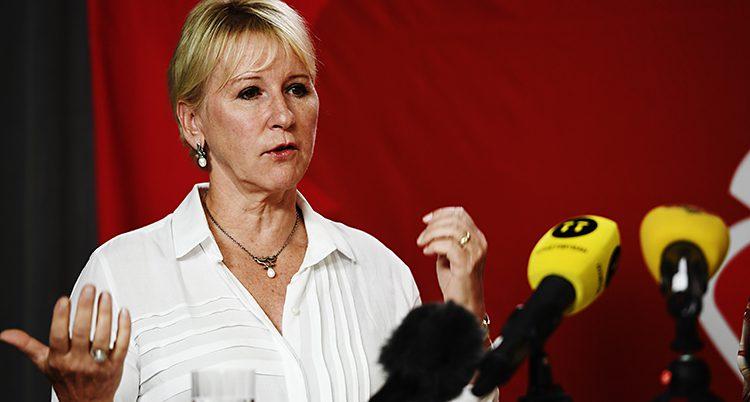 Margot Wallström är utrikesminister.