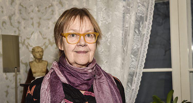 Författaren Tua Forsström.