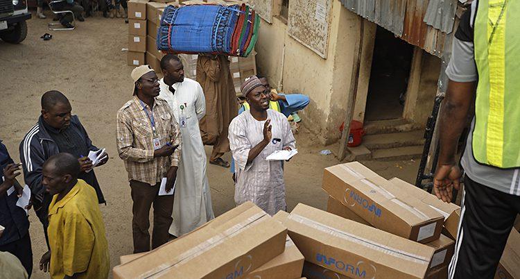 Valarbetare i Nigeria