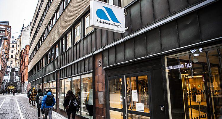 Arbetsförmedlingen i Stockholm