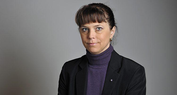 Politikern Emma Carlsson Löfdahl