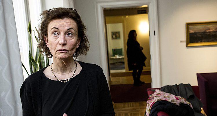 Ingrid Lomfors på Forum för levande historia.