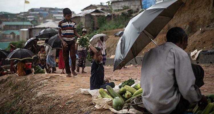 Rohingyer i Bangladesh.