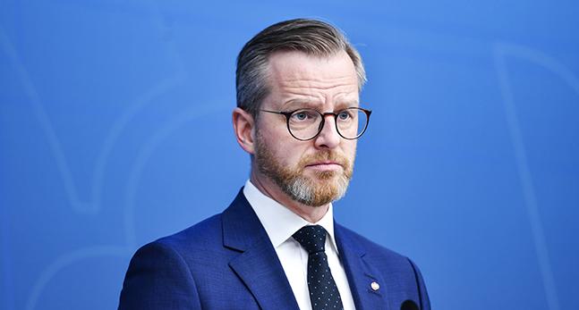 Mikael Damberg är minister i regeringen