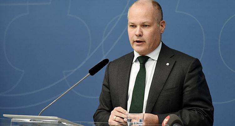 Regeringens minister Morgan Johansson.