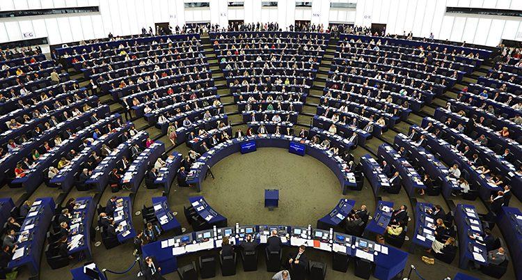 Politikerna i Europaparlamentet.