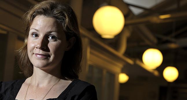 Christina Heilborn i Unicef.