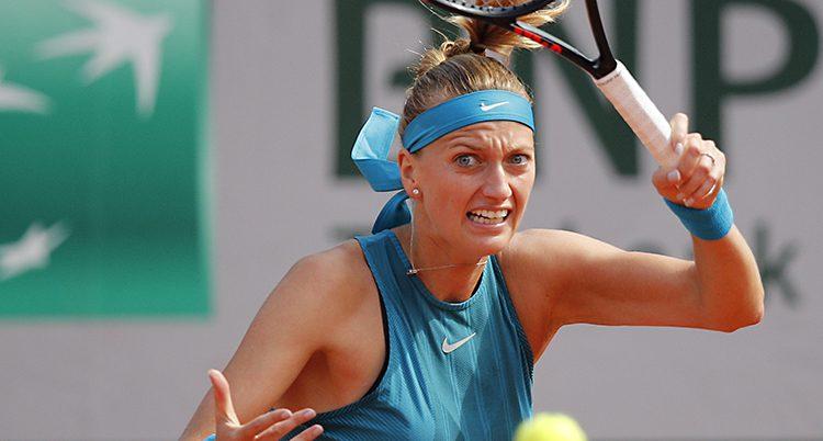 Petra Kvitova spelar tennis igen