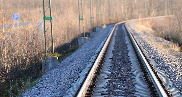 Järnvägen Malmbanan i norra Sverige