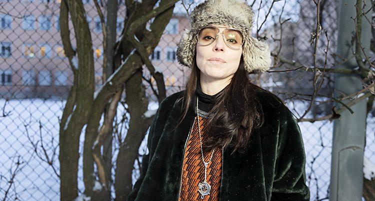 Skådespelaren Lo Kauppi.