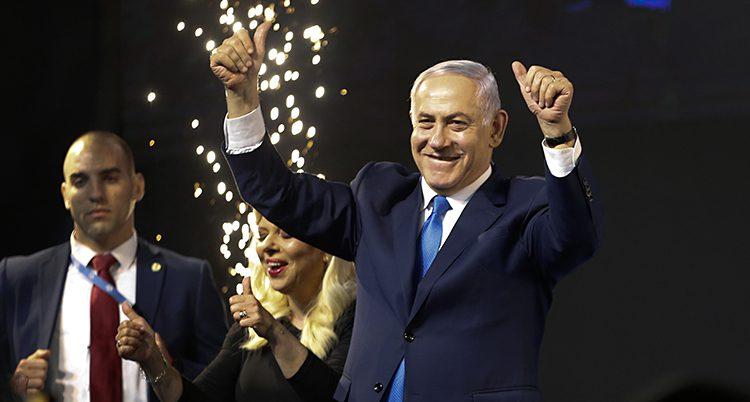 Benjamin Netanyahu firar efter valet