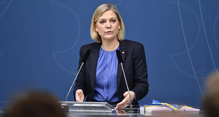 Magdalena Andersson är finansminister
