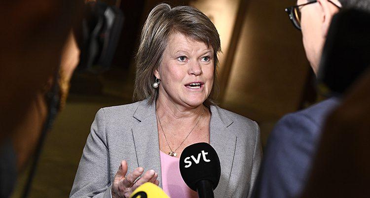 Ulla Andersson i Vänsterpartiet