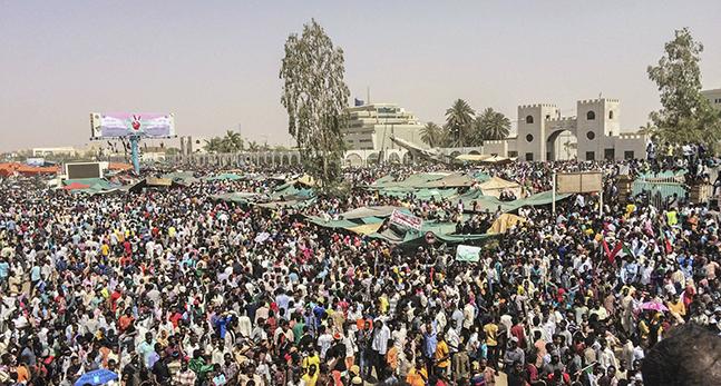 Folk i landet Sudan