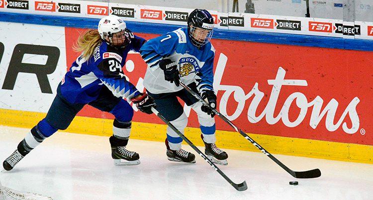 USA vann VM-finalen mot Finland
