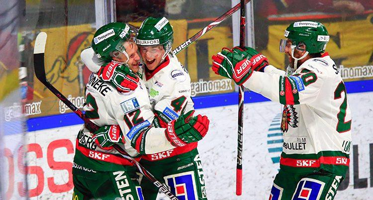 Frölunda vann mot Luleå.