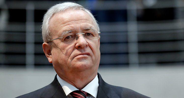 Volkswagens förra chef Martin Winterkorn