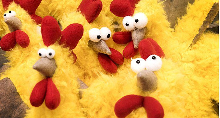 Påskkycklingar.