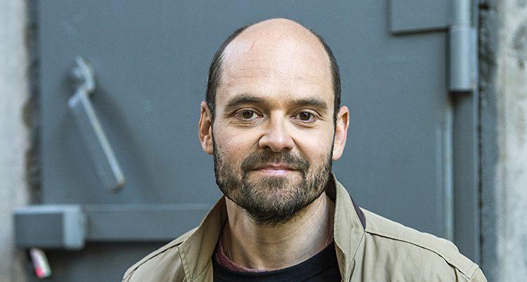 Skådespelaren David Dencik