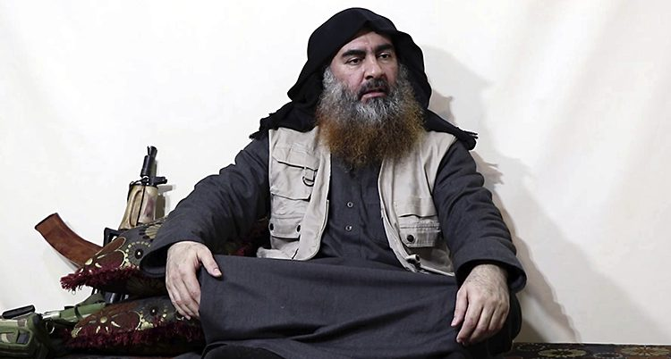 IS ledare Abu Bakr al-Baghdadi