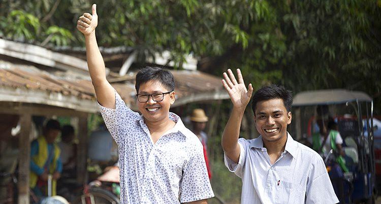 Journalisterna Wa Lone och Kyaw She Oo