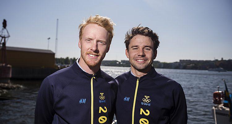 Fredrik Bergström och Anton Dahlberg.