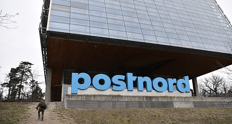 Postnords kontor i Solna.