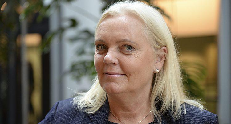 Porträtt på Kristina Winberg