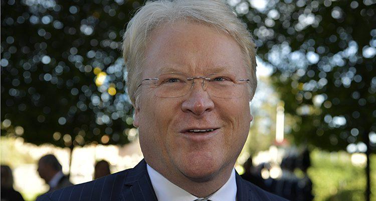 Politikern Lars Adaktusson.