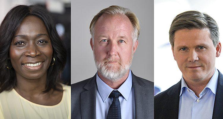 De tre vill bli ledare för Liberalerna.