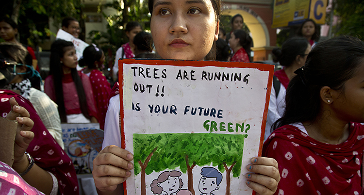 India Climate Protests