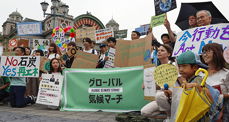Japan Climate Protests