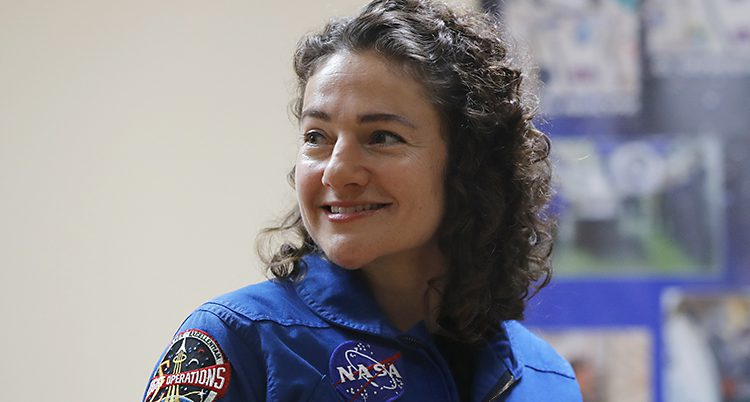 Jessica Meir åker till rymden i dag.