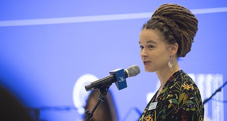 Sveriges kulturminister Amanda Lind.