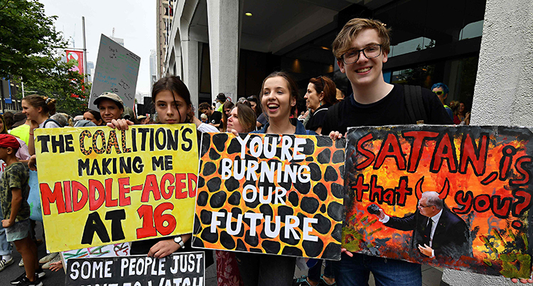 AUSTRALIA-ENVIRONMENT-CLIMATE-PROTEST