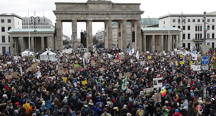 Germany Climate Protest