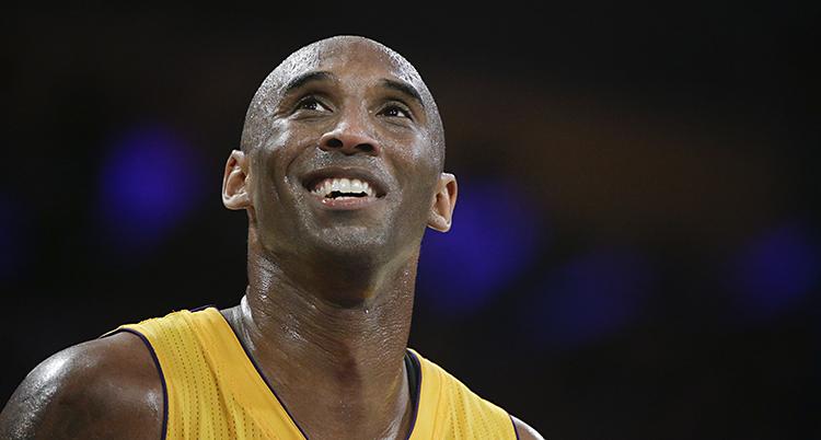 En bild på Kobe Bryant från 2016.