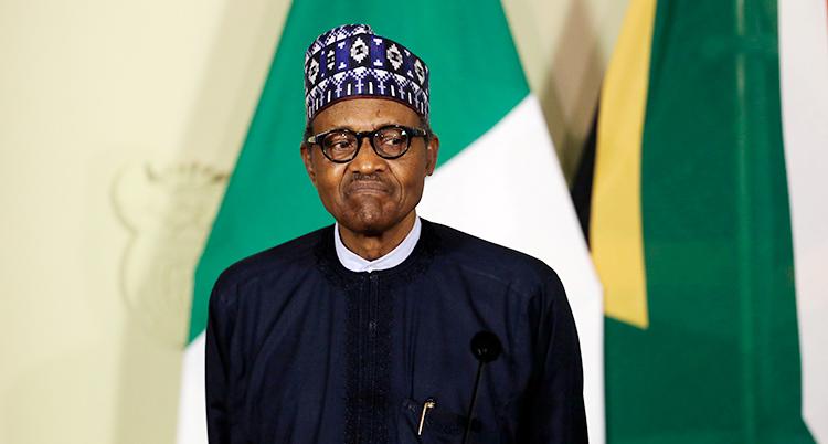 Nigerias president.