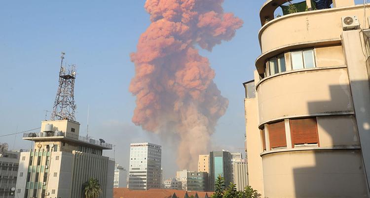 LEBANON-EXPLOSION