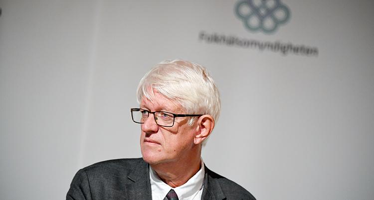 Johan Carlson i profil.