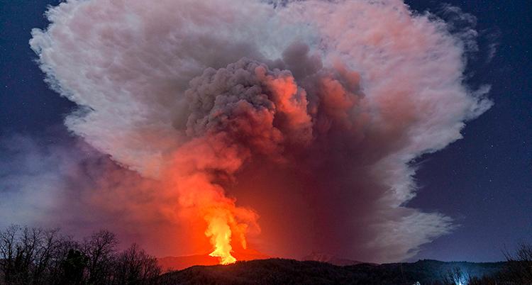 APTOPIX Italy Etna Volcano Eruption