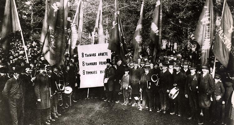 FÖRSTA MAJ 1890