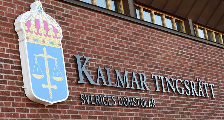 En bild på Kalmar tingsrätts logga.