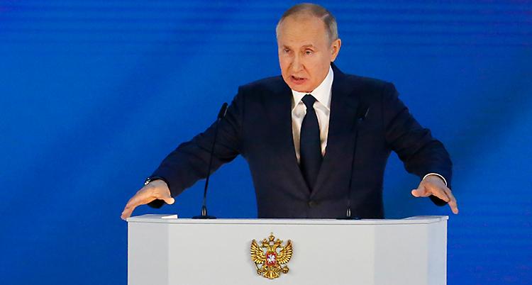 APTOPIX Russia Putin