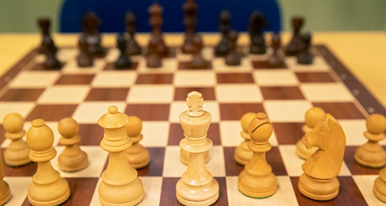 ett schackspel.