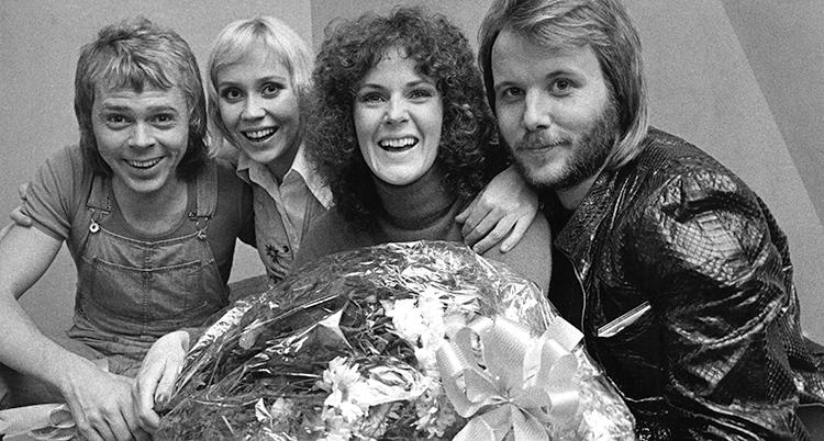 ABBA PHOTO CALL