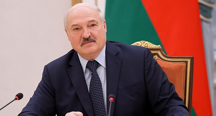 Alexandr Lukasjenko.