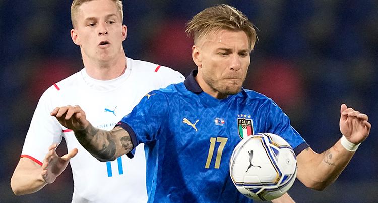 Italy Czech Republic Soccer